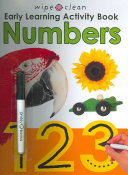 Wipe Clean Early Learning Activity Book - Numbers