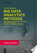 Big Data Analytics Methods Book