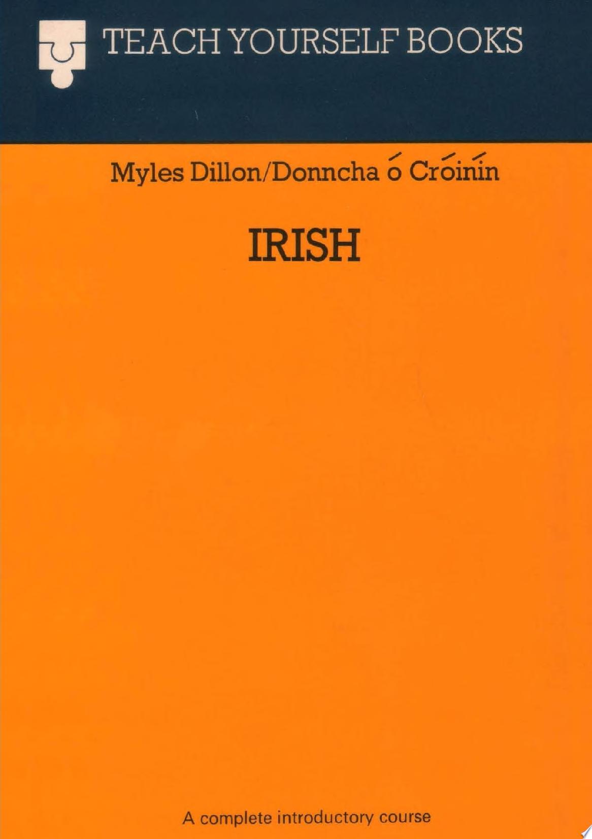 Teach Yourself Irish  1961