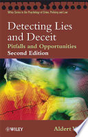 """Detecting Lies and Deceit: Pitfalls and Opportunities"" by Aldert Vrij"