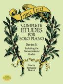 Complete Etudes for Solo Piano