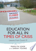 Education for All in Times of Crisis