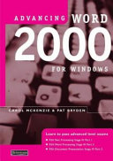 Advancing Word 2000 for Windows