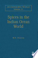 Spices in the Indian Ocean World