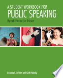 A Student Workbook for Public Speaking