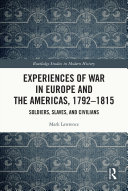 Pdf Experiences of War in Europe and the Americas, 1792–1815 Telecharger