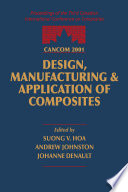 CANCOM 2001 Proceedings of the 3rd Canadian International Conference on Composites