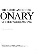 The American Heritage Dictionary of the English Language Book