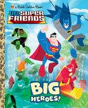 Big Heroes! (DC Super Friends) Pdf/ePub eBook