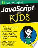 JavaScript For Kids For Dummies Book