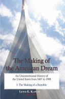 Pdf The Making of the American Dream, Vol. I
