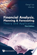 Financial Analysis  Planning  amp  Forecasting Book