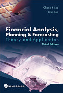Financial Analysis, Planning & Forecasting