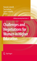 Challenges and Negotiations for Women in Higher Education