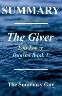 Summary The Giver Book PDF