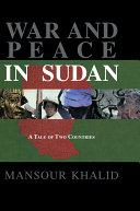War and Peace in Sudan