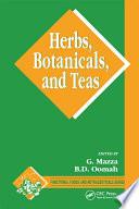 Herbs  Botanicals and Teas Book
