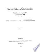 Saline Water Conversion