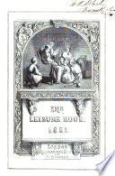The Leisure Hour Monthly Library Book