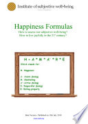 Happiness Formula Book