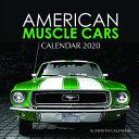 American Muscle Cars Calendar 2020