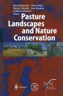 Pdf Pasture Landscapes and Nature Conservation Telecharger