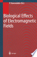 Biological Effects of Electromagnetic Fields Book