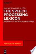 The Speech Processing Lexicon Book