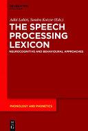 The Speech Processing Lexicon [Pdf/ePub] eBook