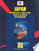 Japan Company Laws And Regulations Handbook