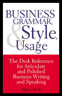 Strategic business letters and e mail book pdf epub download read business grammar style usage fandeluxe Choice Image