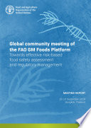 Global community meeting of the FAO GM Foods Platform