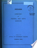 Indiana Directory Of Federal And State Agencies