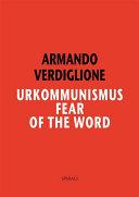 Pdf Urkommunismus. Fear of the Word