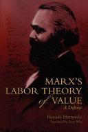 Marx s Labor Theory of Value