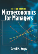 Microeconomics for Managers  2nd Edition