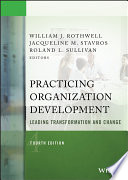 Practicing Organization Development Book