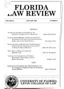 Florida Law Review Book PDF