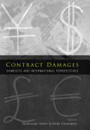 Pdf Contract Damages