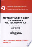 Representation Theory of Algebras and Related Topics