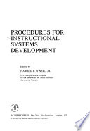 Procedures for Instructional Systems Development