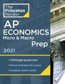 Princeton Review AP Economics Micro & Macro Prep 2021