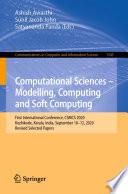 Computational Sciences     Modelling  Computing and Soft Computing