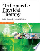 Orthopaedic Physical Therapy   E Book