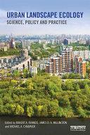 Urban Landscape Ecology Pdf/ePub eBook