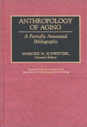 Anthropology of Aging