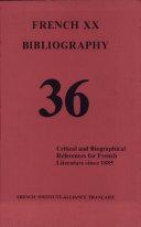 French Xx Bibliography 36