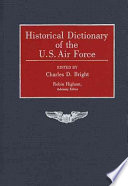 Historical Dictionary of the U.S. Air Force