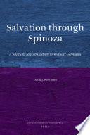 Salvation Through Spinoza Book