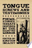 Tongue Screws and Testimonies